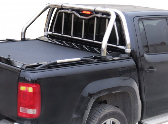 Stainless steel sport design side hand rails (pair) in 105 cm