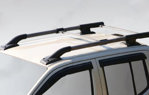 Roof racks aluminum painted
