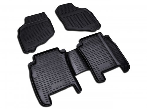 Floor mats for the cabin car