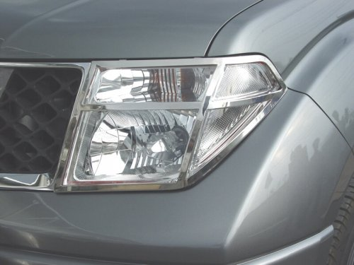 Stainless steel head light guards.