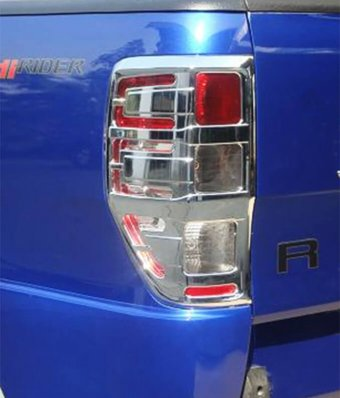 Chrome tail light guards