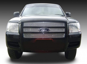Head stainless steel on top grille