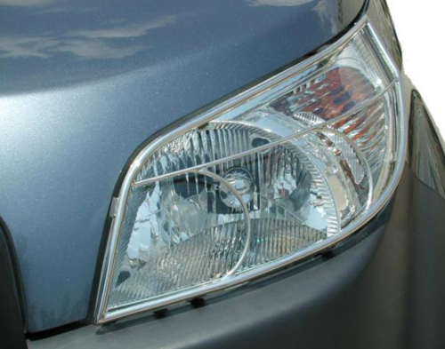 Stainless steel head light guards