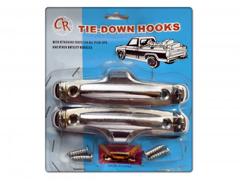 Tie-down hooks (navy style cleats)