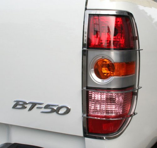 Stainless steel tail light guards