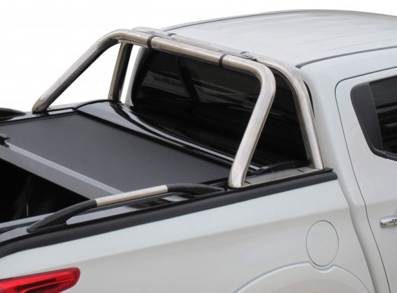 Stainless steel sport design side hand rails (pair) in 80 cm