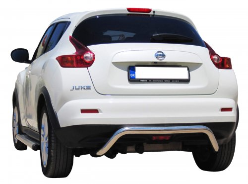 Rear bumper made from Φ65 stainless steel pipe