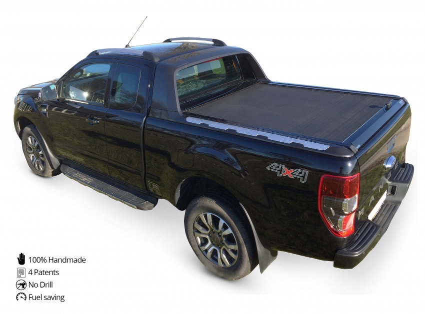 Nero Matte (PAINT,006). prev. next. Ford Ranger Wildtrak 2016+ con accessori