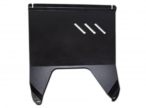 Front steel skid plate