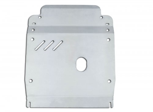 Stainless skid plate