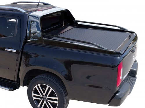 Polyester roll bar with built-in Black Matt side handrails
